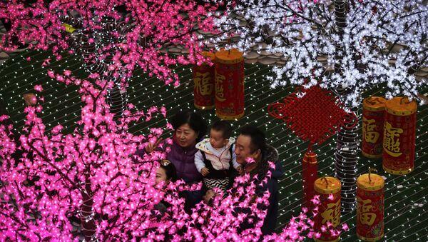 Подготовка к празднованию Китайского Нового года. Архивное фото
