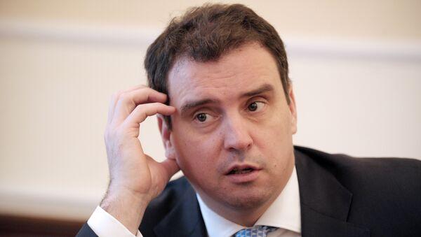 Министр экономического развития Украины Айварас Абромавичюс. Архивное фото