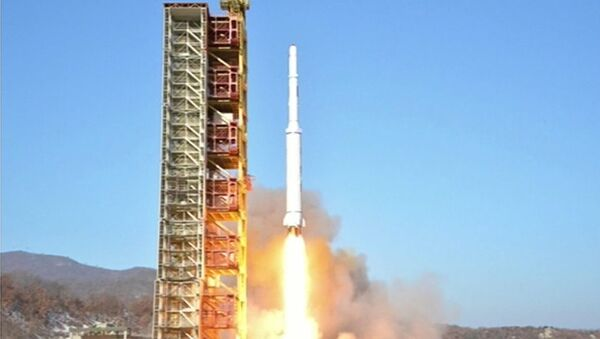 КНДР запустила ракету Кванмэнсон (Яркая звезда)