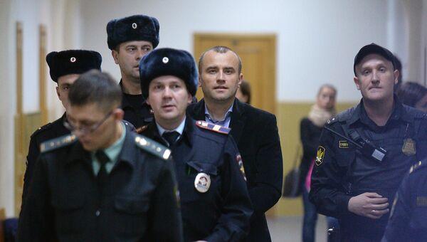 Бывший директор аэропорта Домодедово Вячеслав Некрасов в Басманном суде Москвы. Архивное фото