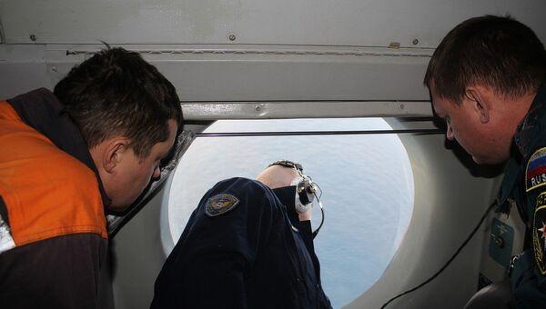 Поисковые работы в Охотском море. Архивное фото