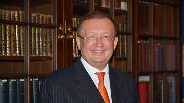 Чрезвычайный и Полномочный Посол России в Великобритании Александр Яковенко. Архивное фото