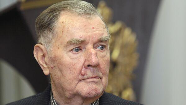 Ветеран футбола Анатолий Ильин. Архивное фото
