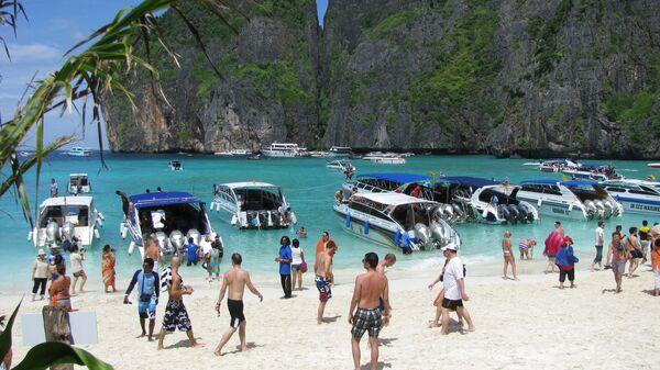 Остров Пхи-пхи. Тайланд. Архивное фото