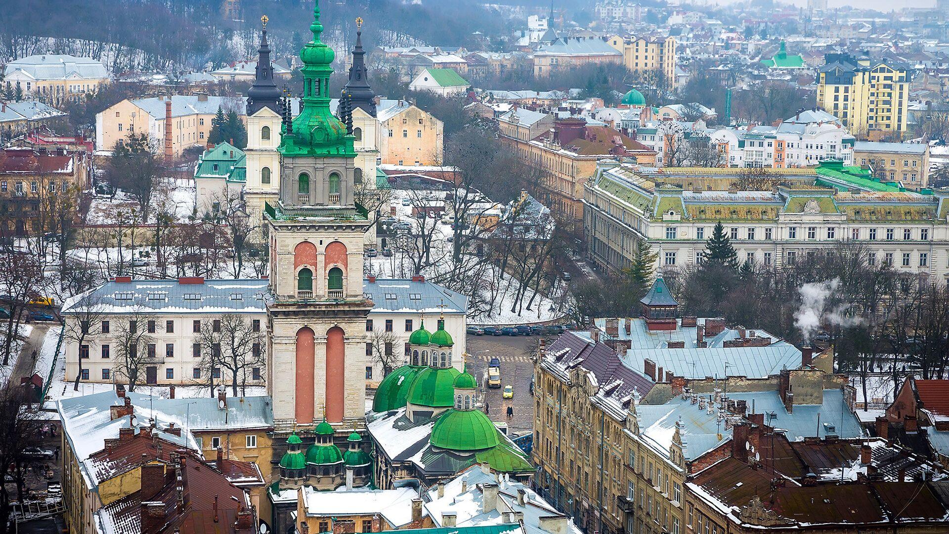 Вид на Львов, Украина - РИА Новости, 1920, 08.04.2021