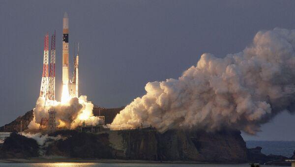 Запуск ракеты-носителя H-2A с рентгеноастрономическим спутником нового поколения ASTRO-H, 17 февраля 2016