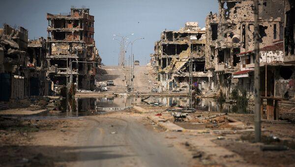 Вид на город Сирт, Ливия. Архивно фото