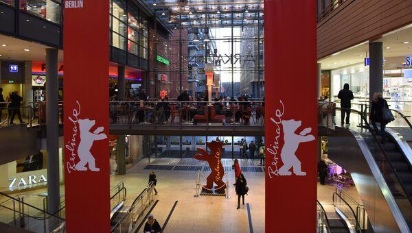 Дворец Berlinale Palast, в котором состоялась церемония открытия 66-го Берлинского международного кинофестиваля Берлинале - 2016