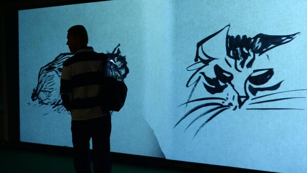 Выставка анималистики Анатолия Зверева. архивное фото