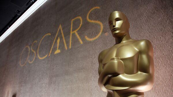 Статуэтка Оскара на обеде номинантов в отеле Beverly Hilton. Архивное фото