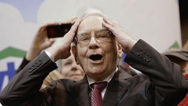 Американский предприниматель, крупнейший в мире и один из наиболее известных инвесторов Уоррен Баффет