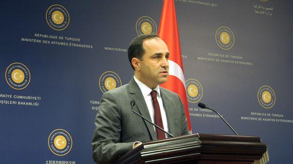 Пресс-секретарь МИД Турции Танжу Бильгич
