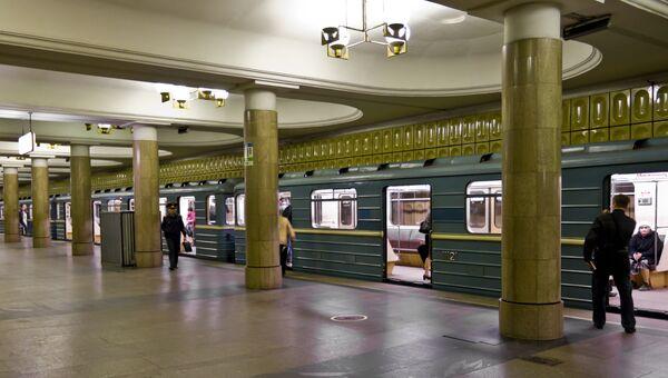 Станция московского метро Ясенево. Архивное фото