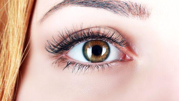 Человеческий глаз. Архивное фото