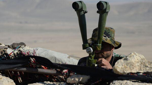 Правительственная армия Сирии. Архивное фото