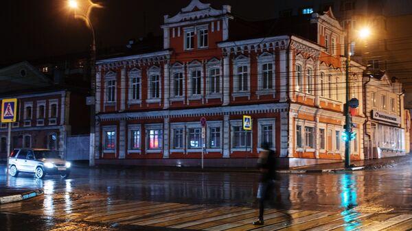 Пересечение улиц Фрунзе и Первомайской в Липецке. Архивное фото