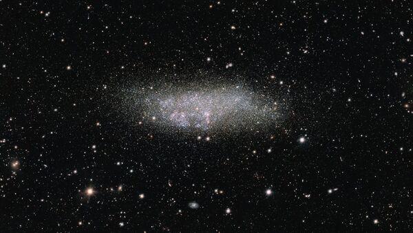 Галактика WLM в созвездии Кита