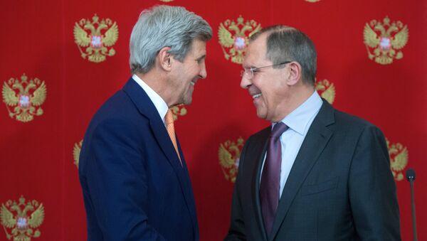 Сергей Лавров и Джон Керри. Архивное фото