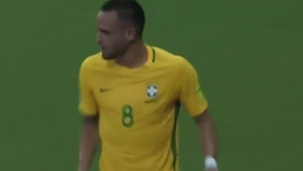Гол-шедевр игрока сборной Бразилии