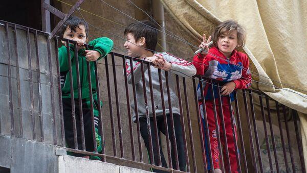 Дети в Сирии. Архивное фото