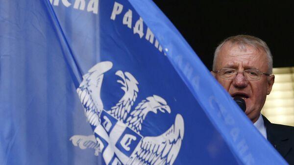 Сербский политик Воислав Шешель. Архивное фото