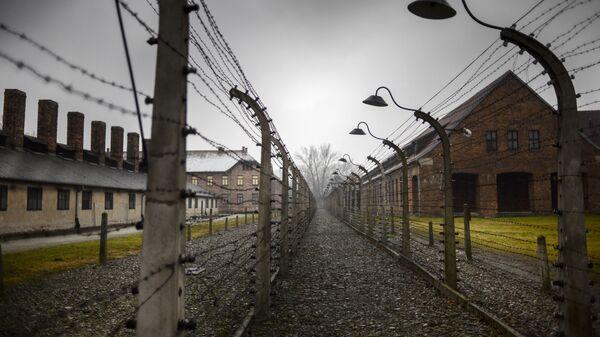 Концентрационный лагерь Аушвиц-Биркенау в Освенциме, Польша. Архив