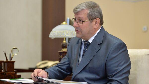 Руководитель Федерального архивного агентства Андрей Артизов. Архивное фото