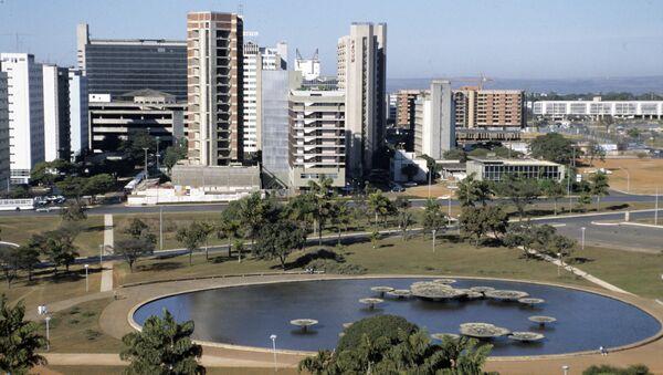 Бразилиа. Бразилия. Архивное фото