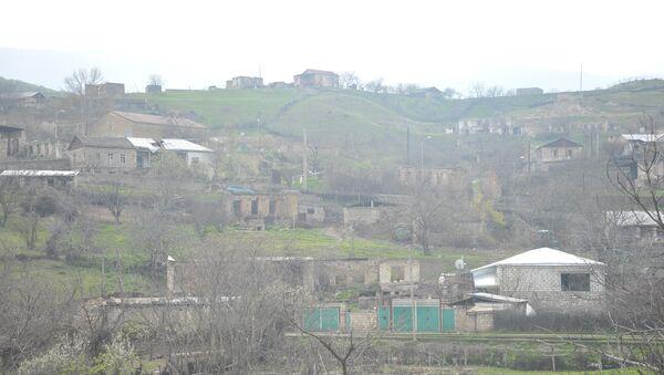 Пограничное село Талыш Мартакертского района Нагорного Карабаха. Архивное фото