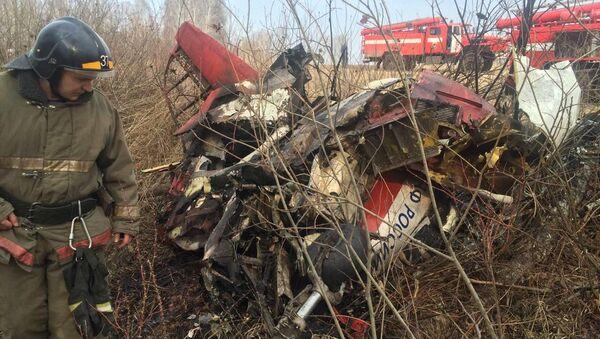Крушение Як-52 в Челябинской области, 10 апреля 2016