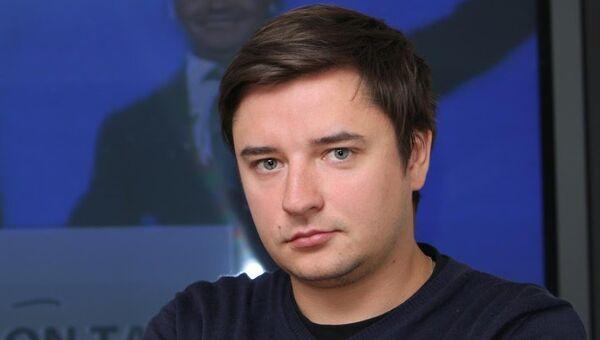 Руководитель интернет-редакции RT Кирилл Карнович-Валуа. Архивное фото