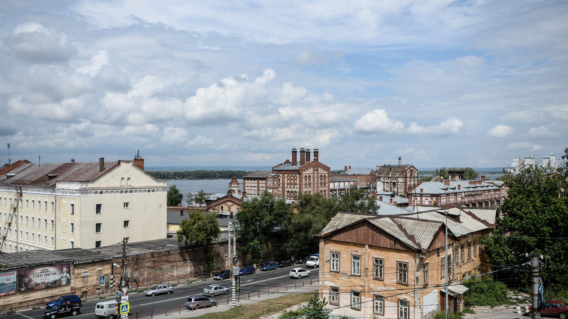 Улицы и здания Самары - РИА Новости, 1920, 30.07.2021