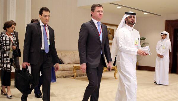 Встреча представителей нефтедобывающих стран в Дохе 17 апреля
