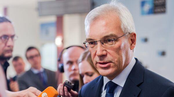 Постоянный представитель РФ при НАТО Александр Грушко. Архивное фото