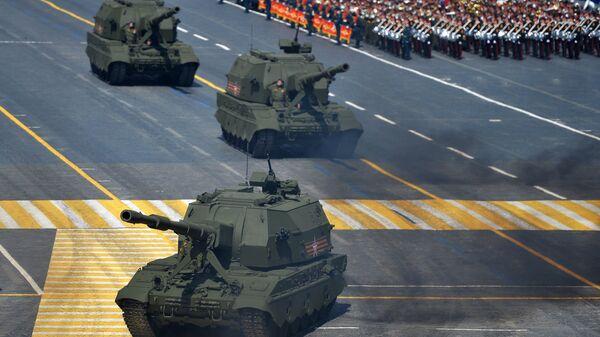 Самоходные артиллерийские установки (САУ) Коалиция-СВ