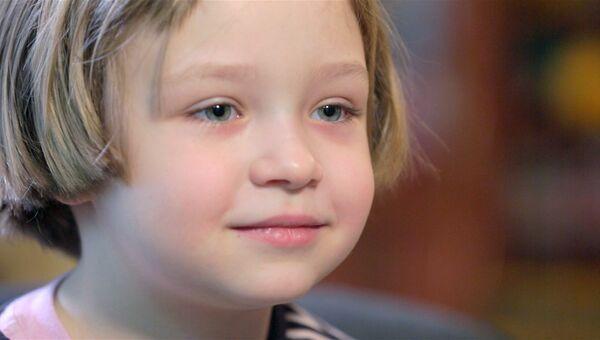 Кристина, 6 лет. Мечтает о пони и летающей фее, боится темноты