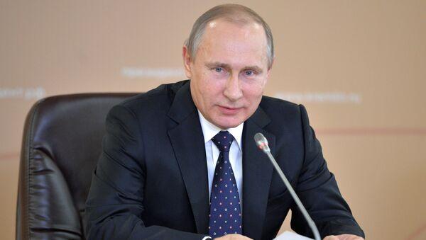 Президент России Владимир Путин проводит в Казани заседание Совета при президенте РФ по развитию физической культуры и спорта