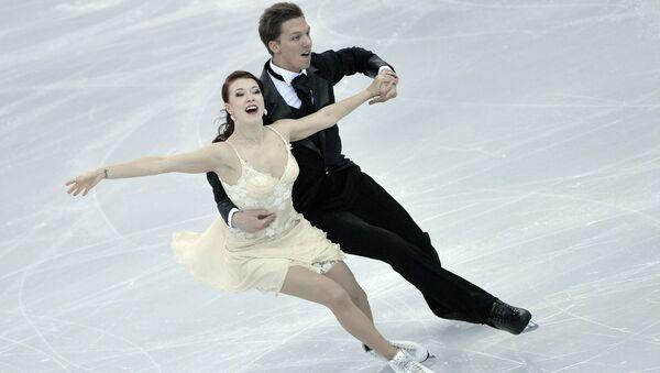 Российские фигуристы Екатерина Боброва и Дмитрий Соловьев. Архивное фото