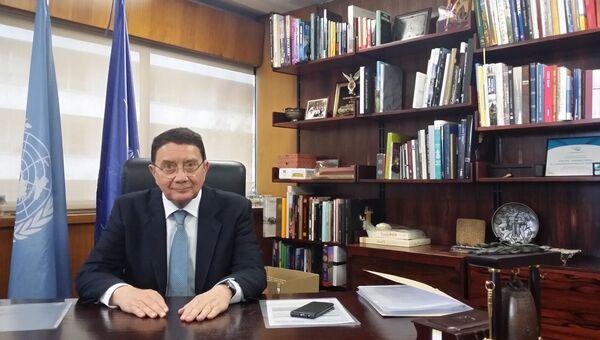 Генеральный секретарь ВТООН (Всемирной туристской организации)  Талеб Рифаи. Архивное фото