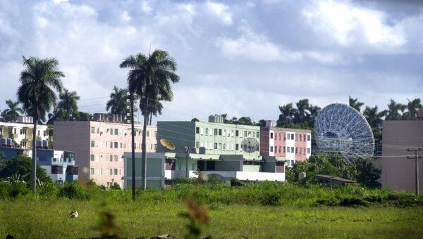 Радиоэлектронный центр в Лурдесе, Куба. Архивное фото