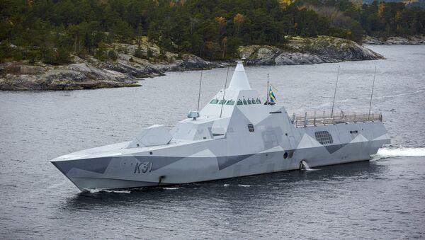 Корвет Висбю ВМС Швеции