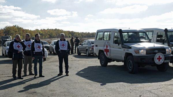 Представители Международного комитета Красного Креста
