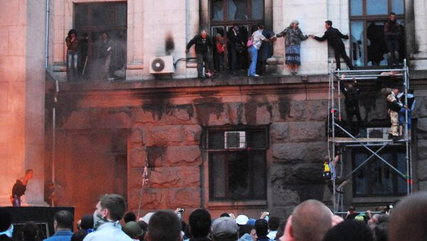 Столкновения в Одессе 2 мая 2014 года. Архивное фото