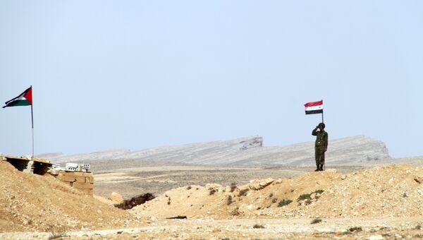 Блокпост на сирийско-ливанской границе. Архивное фото