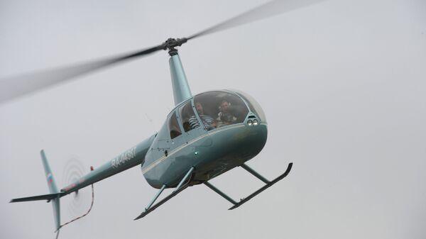 Вертолет Robinson. Архивное фото