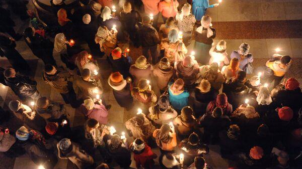 Празднование Пасхи в России