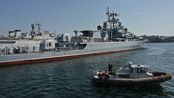 Сторожевой корабль Ладный. Архивное фото