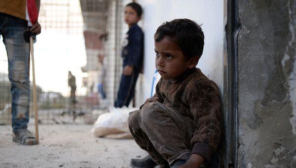 Сирийский ребенок. Архивное фото