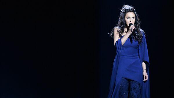 Украинская певица Джамала во время генеральной репетиции второго полуфинала 61-го конкурса песни Евровидение 2016