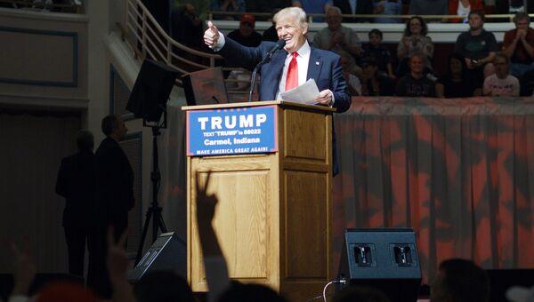 Кандидат в президенты США Дональд Трамп. Архивное фото
